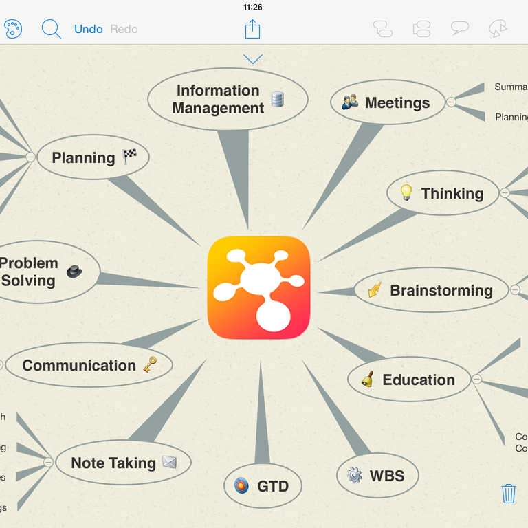 iThoughts is a mind mapping tool that is useful for planning your story away from slideware.