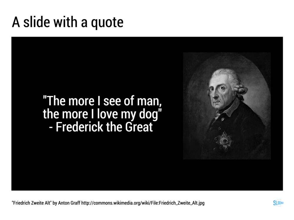 A big quote