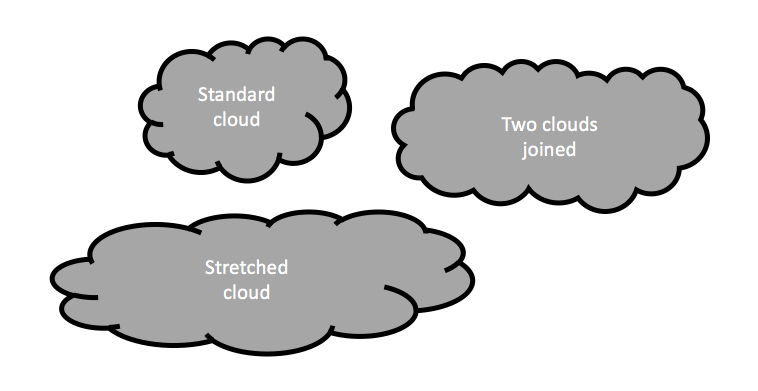 Clouds In Powerpoint Powerpoint Templates And Presentation Design