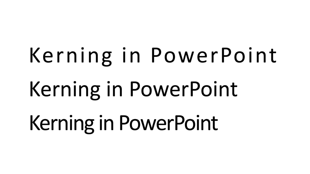 Letter spacing in powerpoint powerpoint templates and presentation as an amateur designer of powerpoint slides for a business presentation you probably never need to worry about kerning the one exception is cleaning up toneelgroepblik Gallery