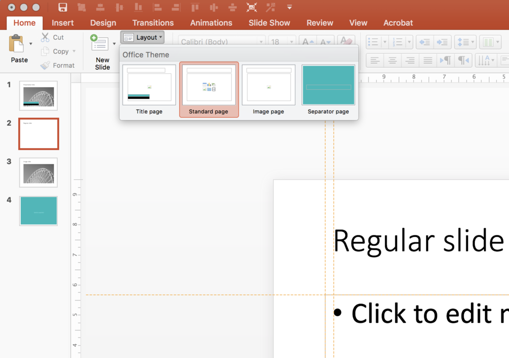My Own Clean Powerpoint Template Powerpoint Templates And