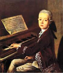 A young Mozart