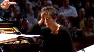Maria Joao Pires realising she had prepared the wrong Mozart Piano Concerto