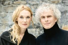 Simon Rattle and Magdalena Kozena