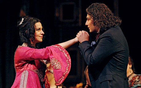 Kaufmann opposite Angela Gheorghiu in La traviata at the New York Metropolitan Opera