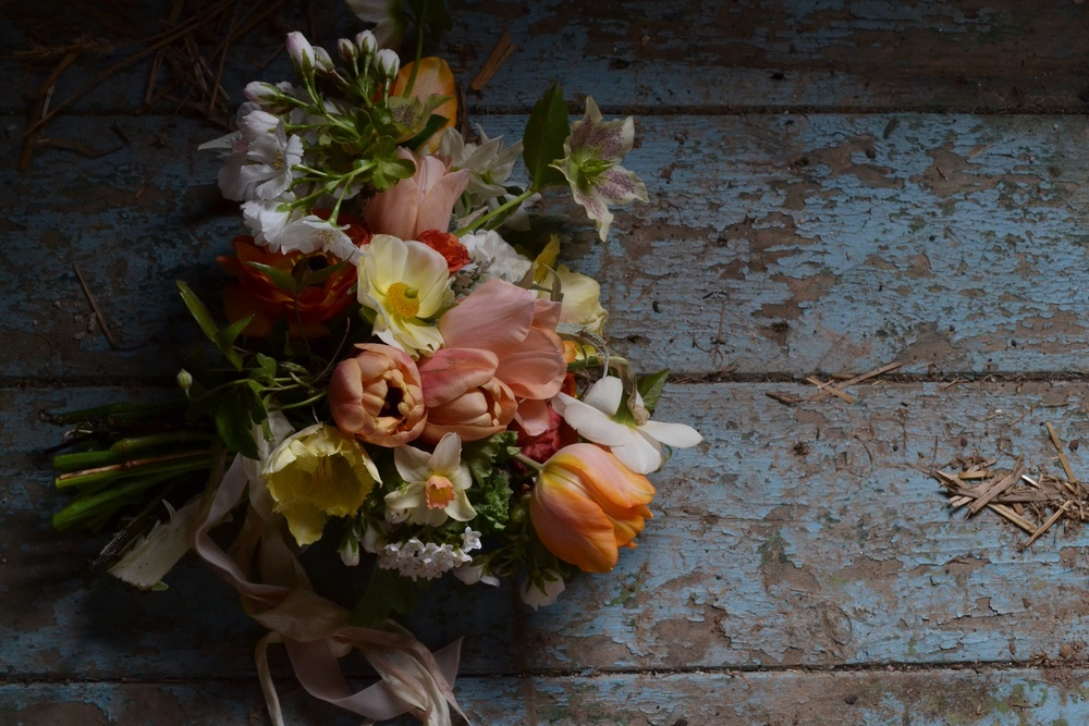 all blooms home grown by The Garden Gate Flower Company.