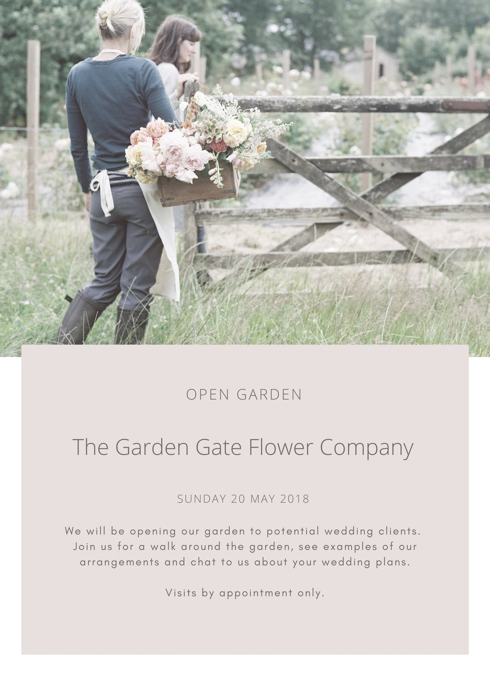 We Are Delighted To Be Offering Potential Brides An Opportunity To Meet Us And Our Garden If You Would Like To Arrange An Appointment Please Fill In The