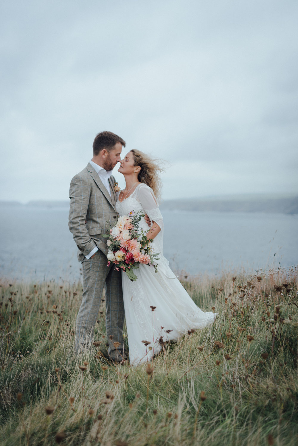 Salt water weddings in Cornwall