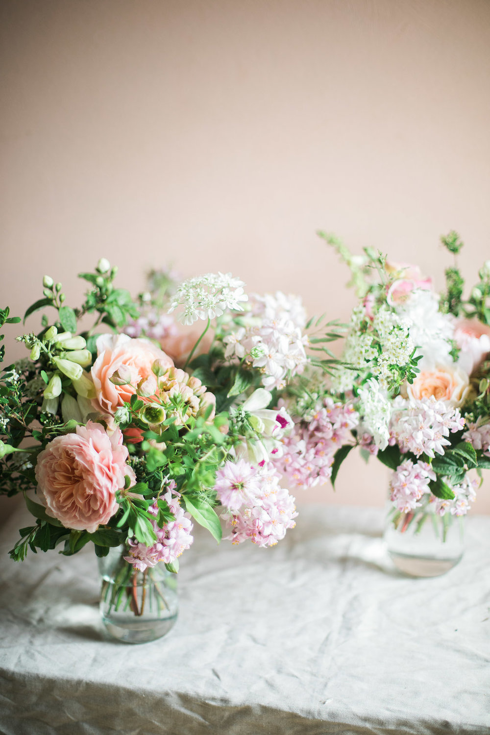 Seasonal wedding florist Cornwall