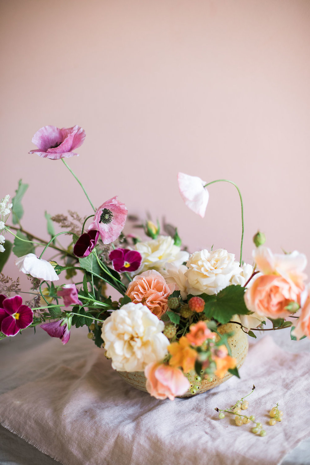 Cornish wedding florist