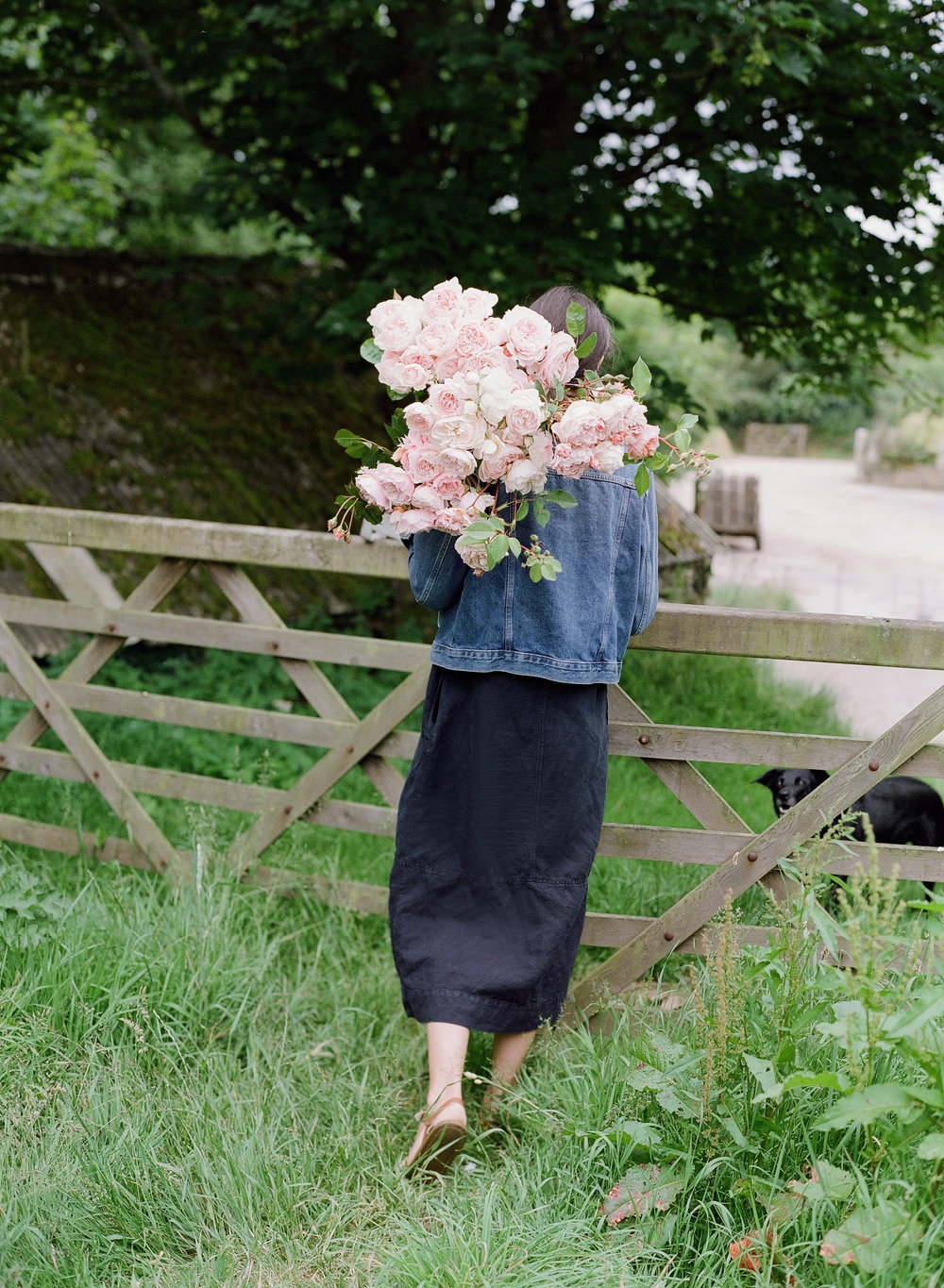 Cornish Florist Becca of The Garden Gate Flower Company