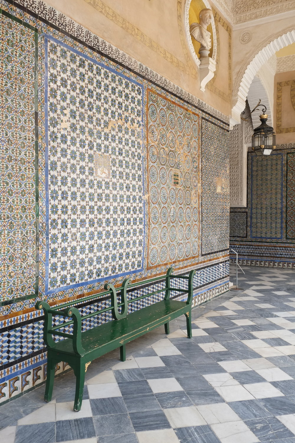 Take a seat at Casa de Pilatos
