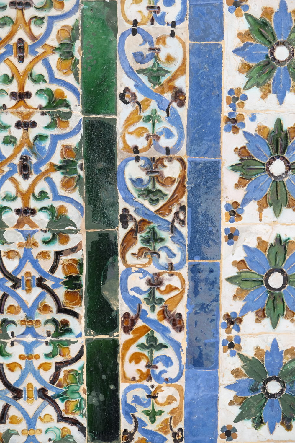 Tiles from the Casa de Pilatos