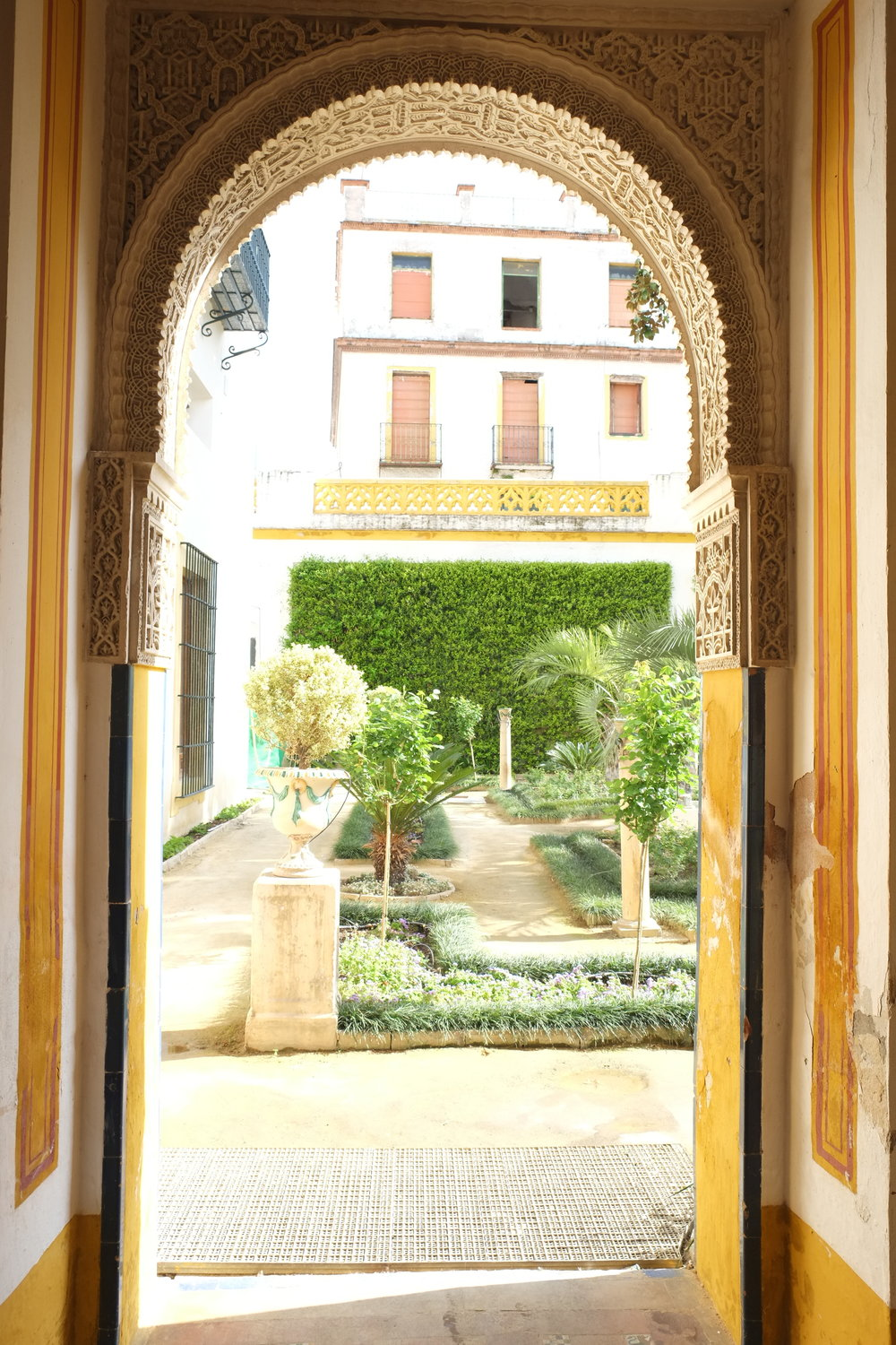 Golden vistas at Casa de Pilatos
