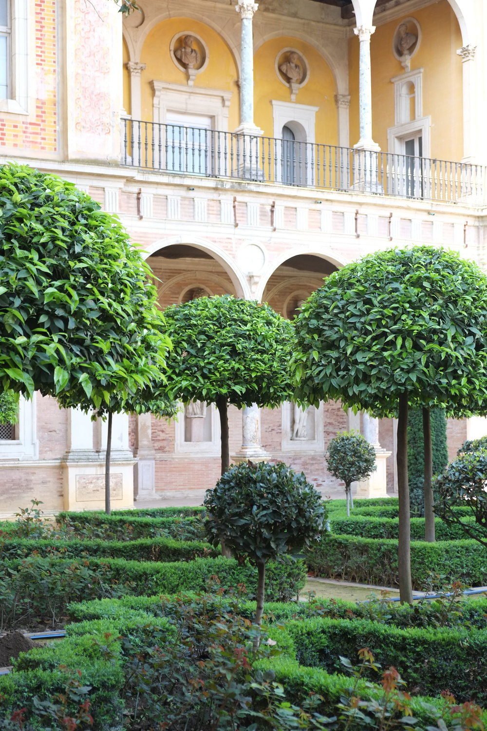 Gardens at Casa de Pilatos