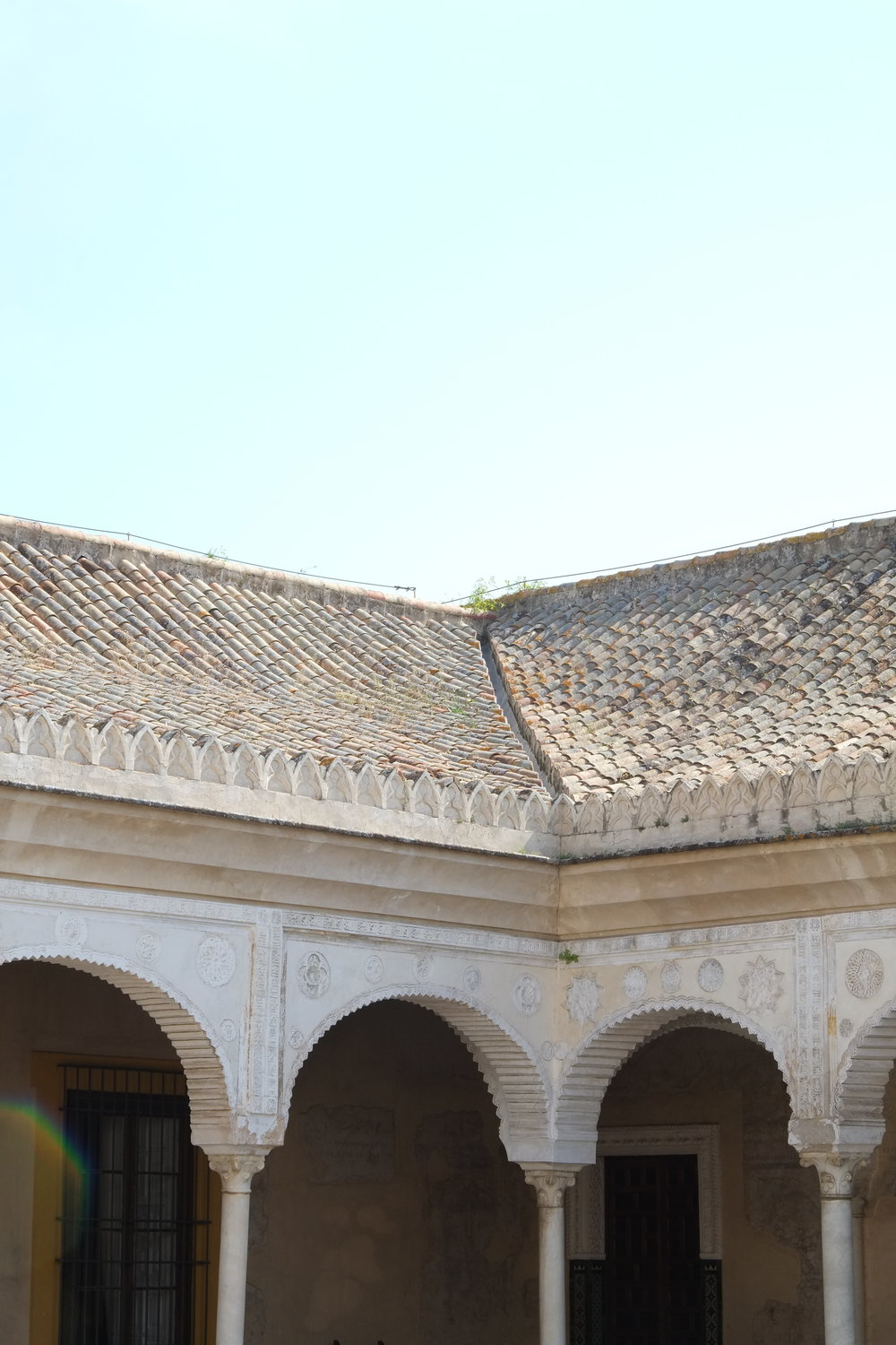 Roof top of Casa de Pilatos