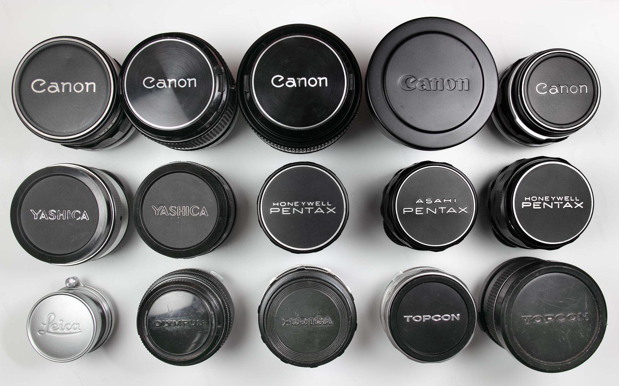 Lenses for the Sony A7 — Richard W  Baker