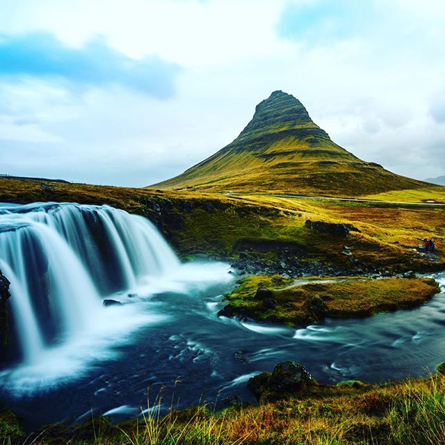 Kirkjufell mountain, one of the most photographed mountains in all of #Iceland. #sonyalpha #bealpha