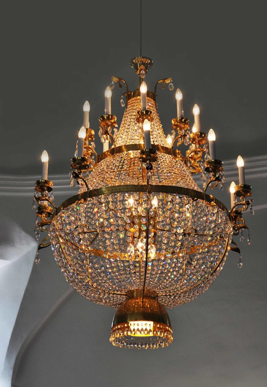 Custom chandelier / Semič, Novo Mesto, Slovenia