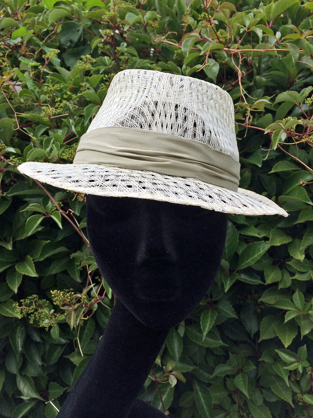 Quinta Trilby - from £195 Additional Fabric Bands £10-£18