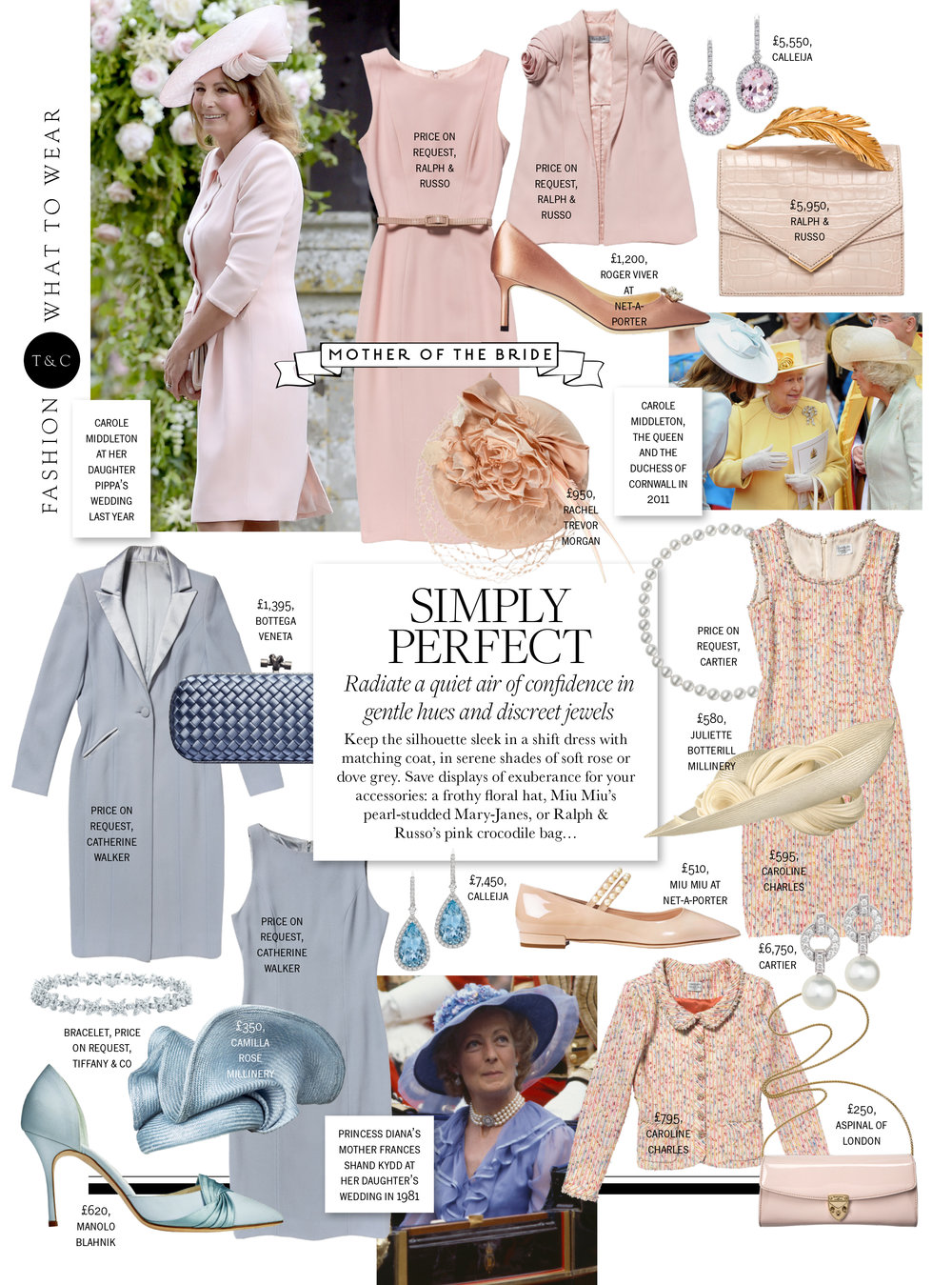 Town & Country - Spring 2018  (Volute Headpiece Pale Blue)
