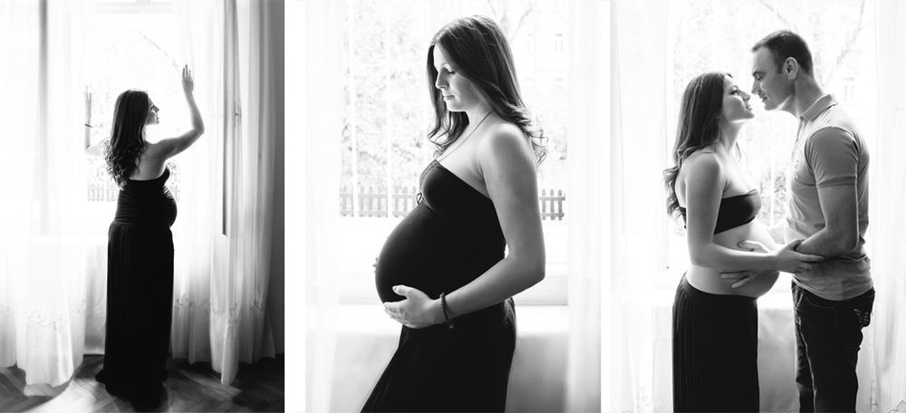 elegante Schwangerschaftsfotos