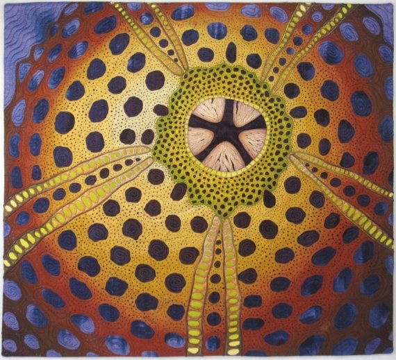 Urchin II by Betty Busby  http://bbusbyarts.com