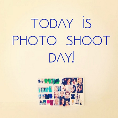 Our    behind the scenes    snaps for our 1st 2014 collection photo shoot are on Instagram!