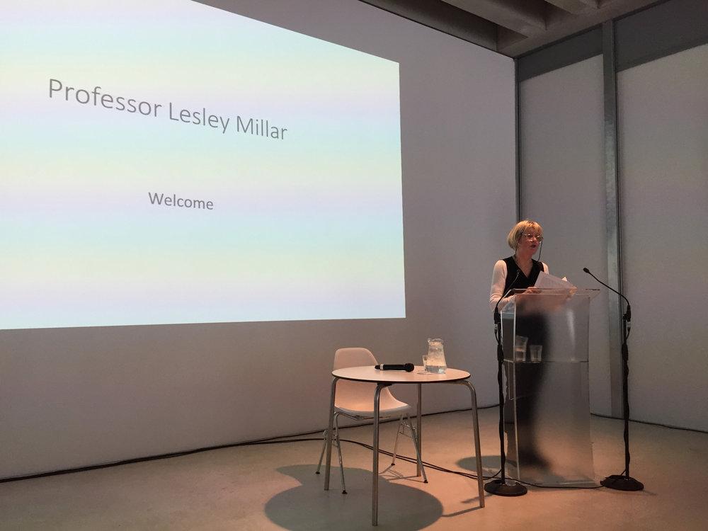 Lesley Millar Opening