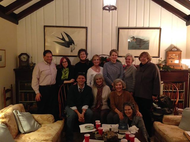 The Chevy Chase poetry workshop, December, 2013: meeting 16 weeks a year since fall 2010