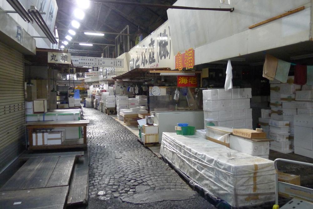 Tokyo Fish Market, early morning