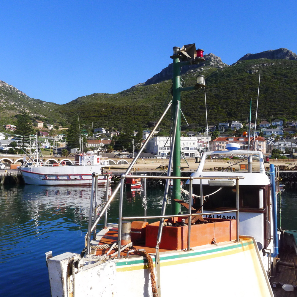Harbor at Kalk Bay