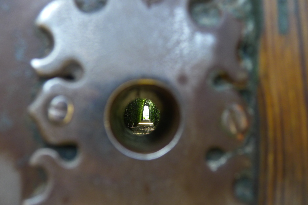All of Rome through a keyhole