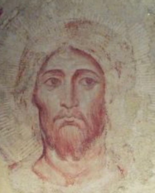 Torriti's 800 year old God-face