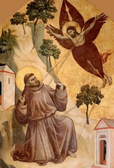 Jesus as Eagle, Francis as Jumping Mouse: Giotto's  Francis Receiving the Stigmata