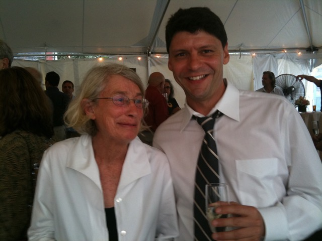 Remembering my friend and mentor, Mary Oliver, who passed away January 17, 2019. At an event to celebrate her importance to Provincetown in July, 2010.