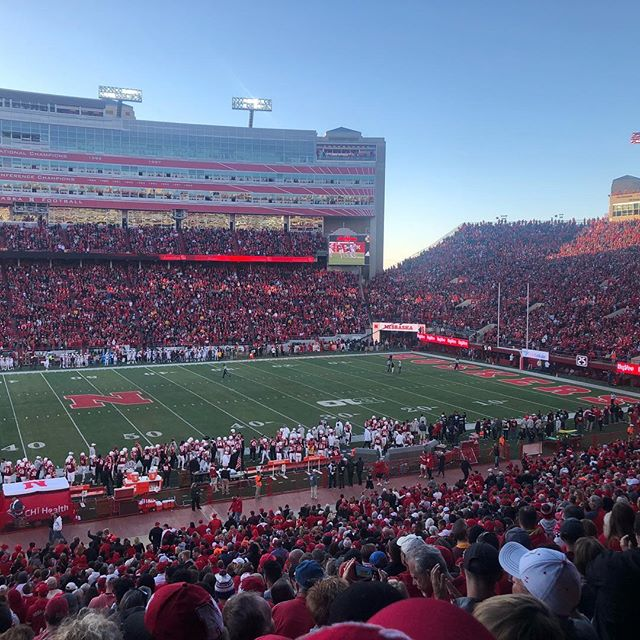 Good to be here when the losing streak ends....#gbr