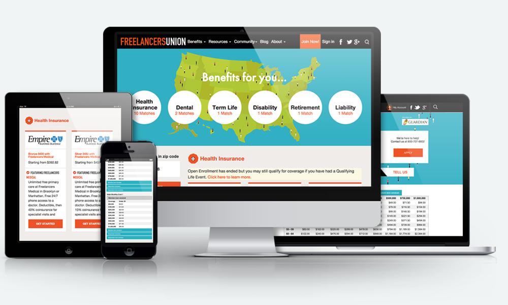 Freelancers Union     Nationwide Insurance Benefits Shopping Platform