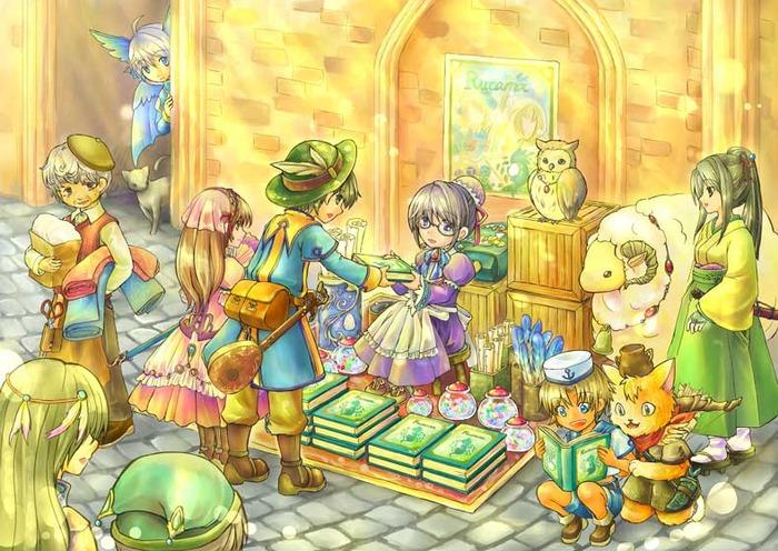 A Ryuujin receiving a story. Nom Nom.