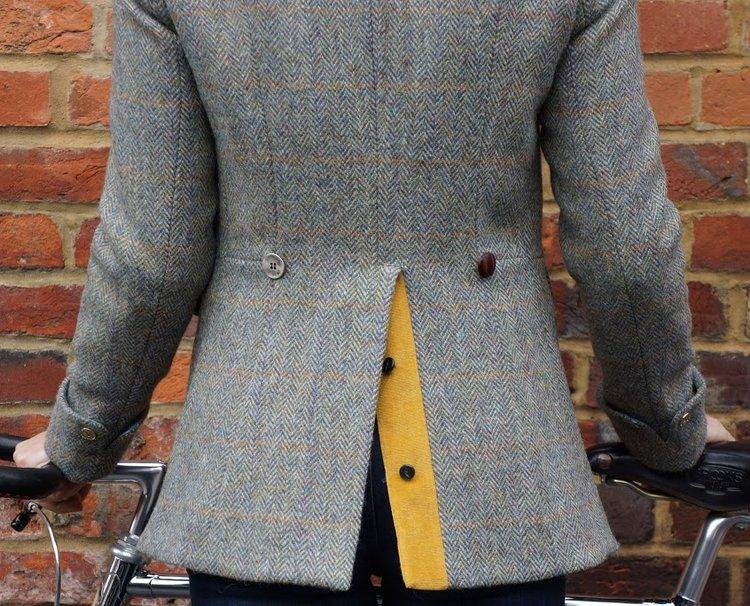 jacket velvet trim
