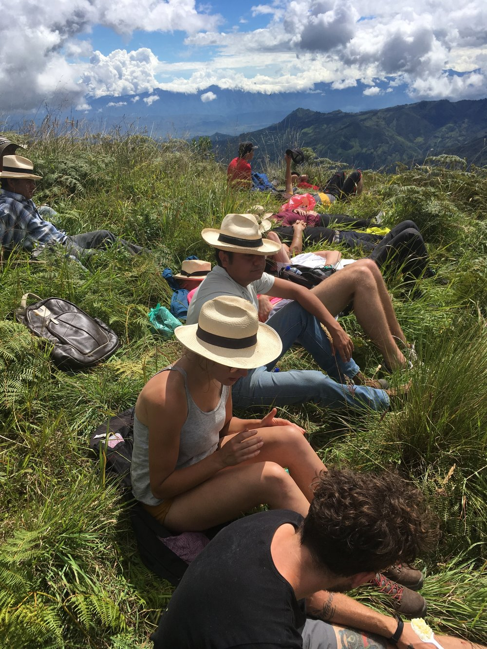 The Field Barista Project is not all work and no play - the hike up to the peaks above Génova is one of the most beautiful things you'll do in your life... Rewarded with the best Colombian lunch at the highest point.