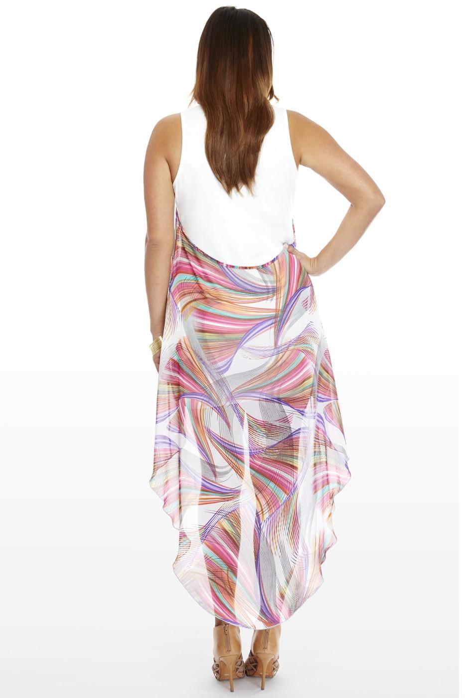 Back of Overlay Dress