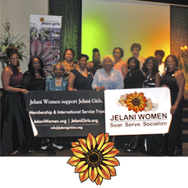 How to Get Involved:  *Join Jelani Girls Inc as a committee member and use your expertise, skills and passions to support the Board of Directors in getting things done behind the scenes.  *Sign up for an incredible Jelani Women service trip, private or public.  *Donate as an individual contributor or as a member of Jelani Women.