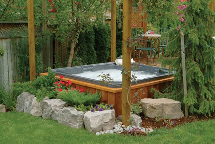 self cleaning hot tubs garry 39 s hot tub gallery On jacuzzi exterieur 6 places