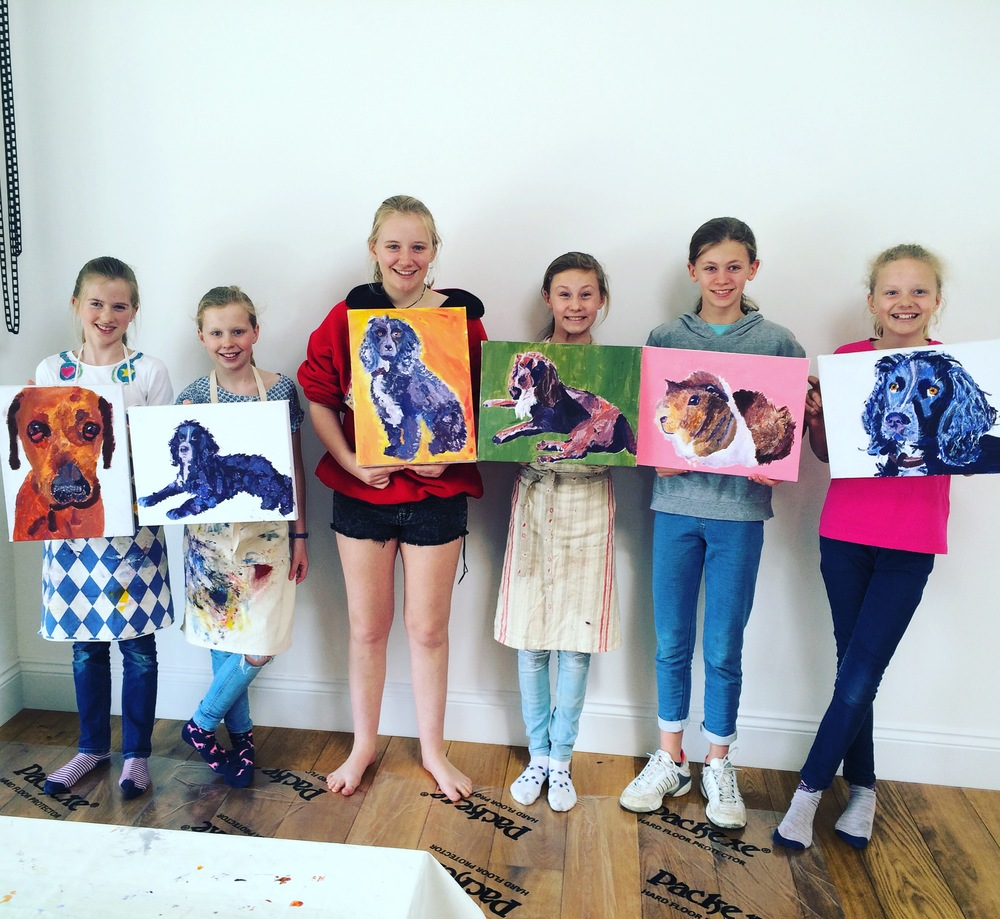 Animal Painting Workshop
