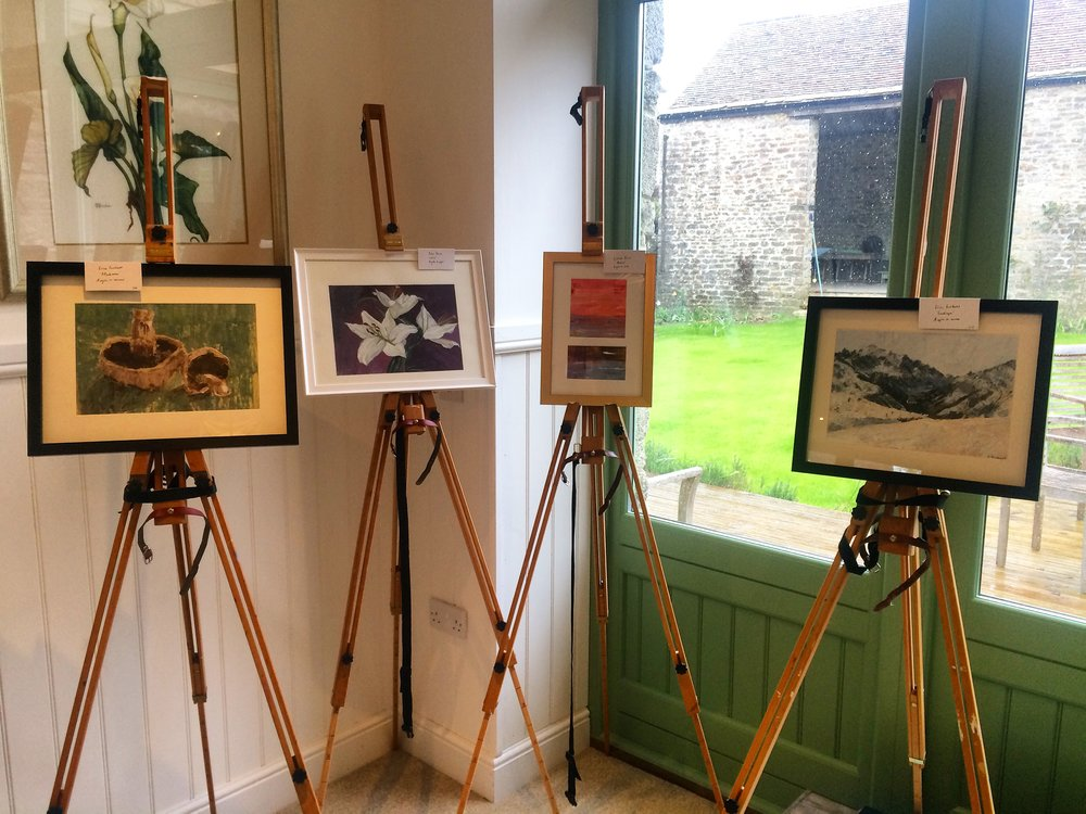 Quince Art School Exhibition 2016 in aid of Marie Curie
