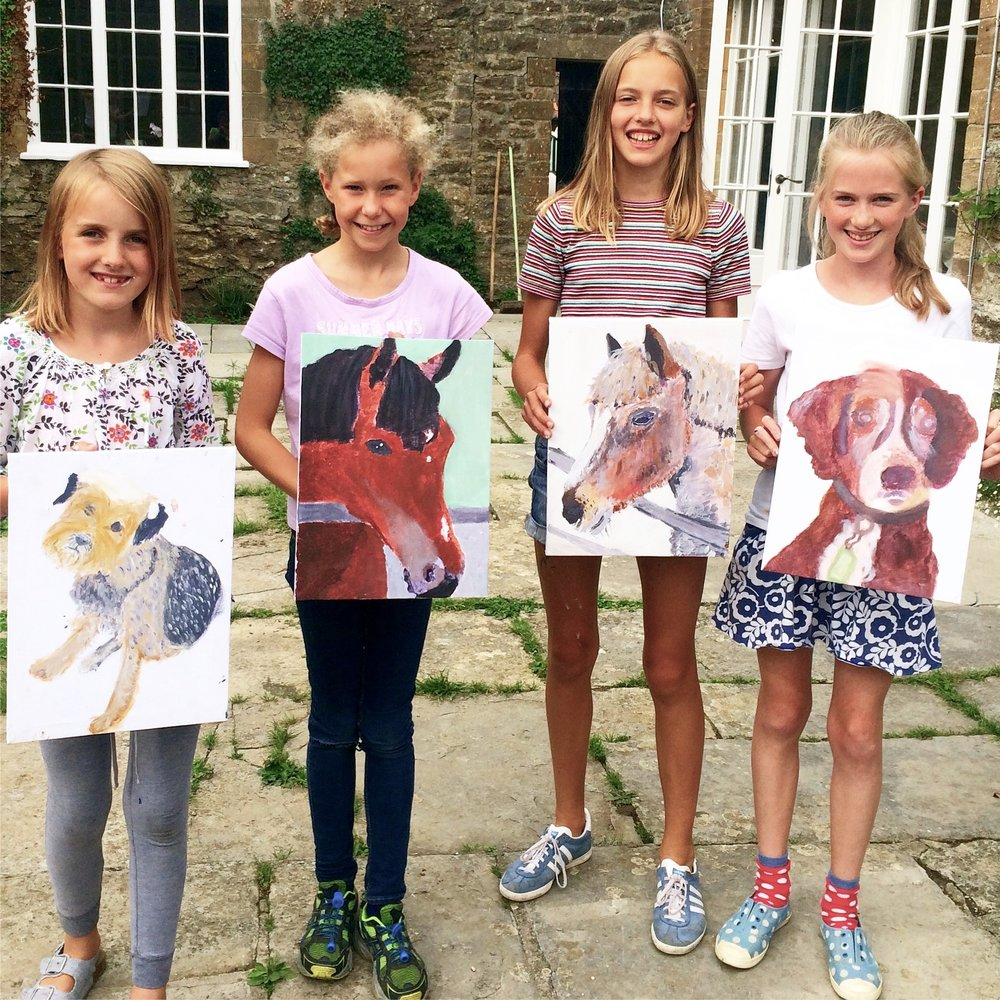 Children's Animal Painting Workshop