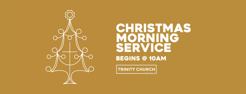 please join us for our christmas morning service. all are welcome.