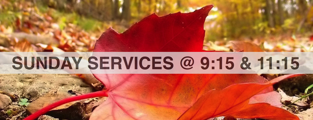our sunday services are held at 9:15 & 11:15.  kids programs are available at both services.  Junior youth program is held during the 9:15 service. join us afterwards for coffee, Cookies and chat. everyone is welcome!