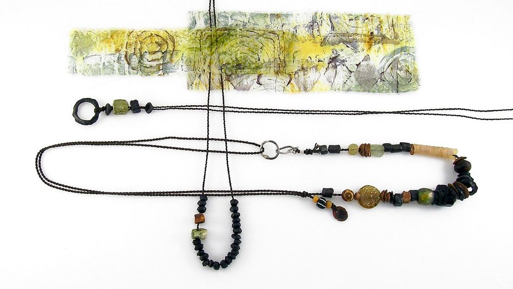 dragon skin steel necklaces kathy van kleeck